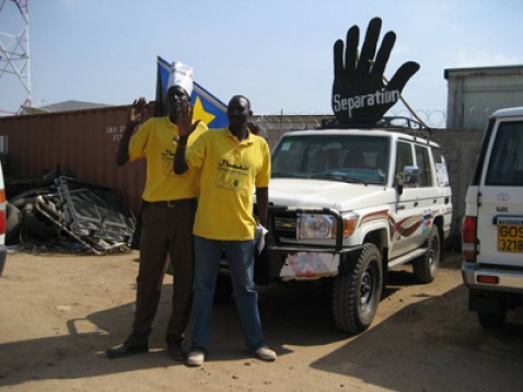 Southern Sudan votes