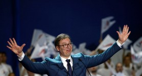 Serbia's Prime Minister Projected to Win Presidency, Consolidating Control