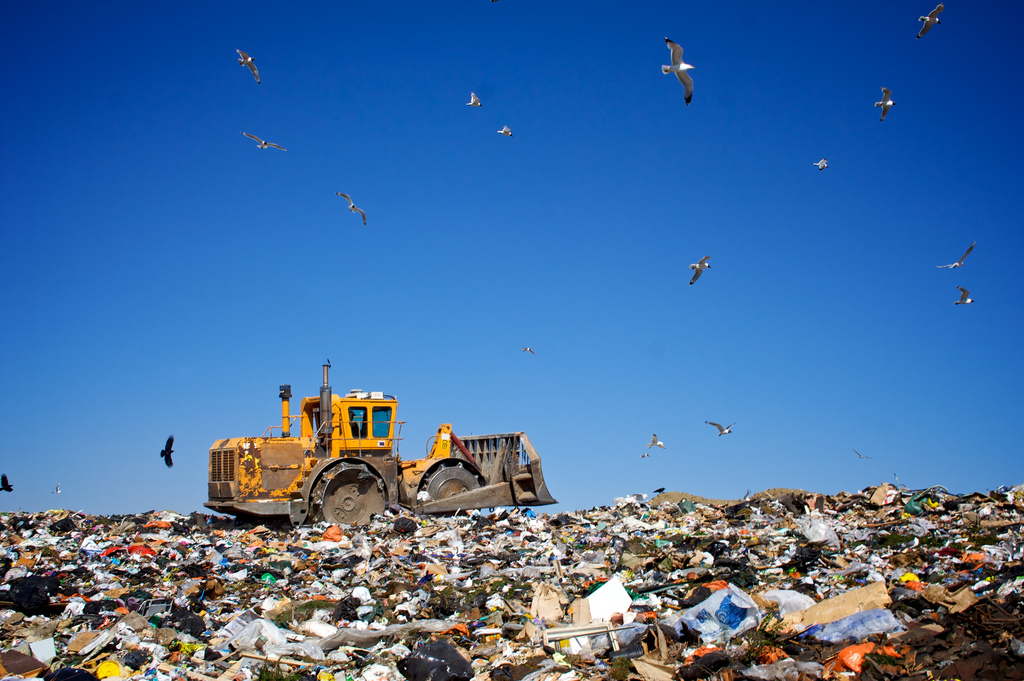 Los Angeles County is home to the country's largest active landfill.