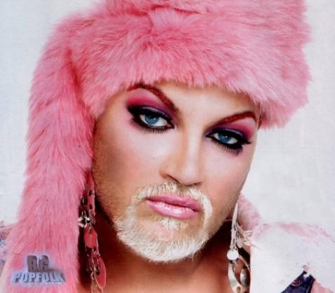 Bulgarian Gypsy transvestite pop-folk star