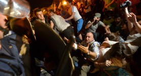 Protests Trap Bulgarian MPs Inside Parliament